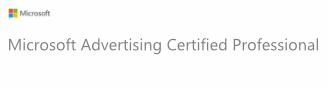 Microsoft Ad Certified