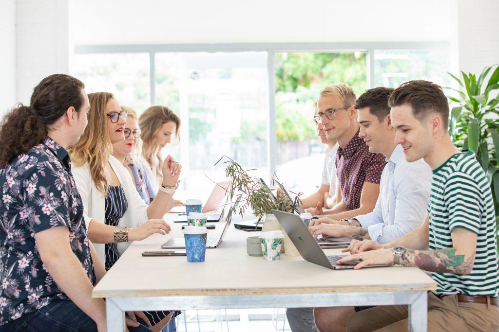 portfolio website - the Digital Nomads team