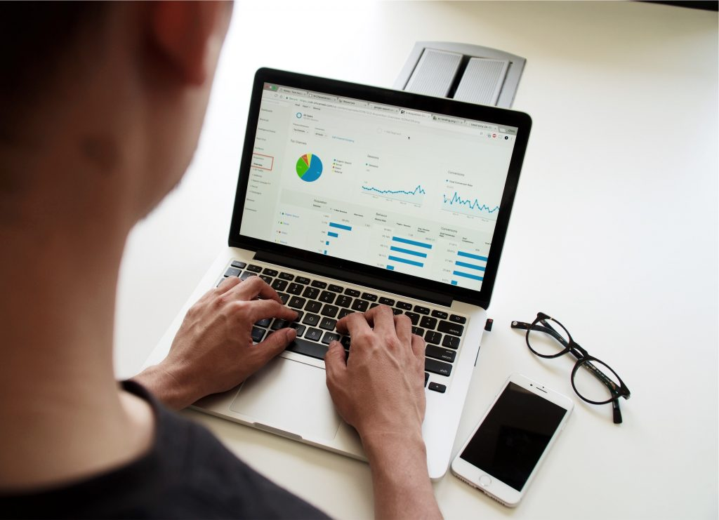 google adwords services - person using laptop