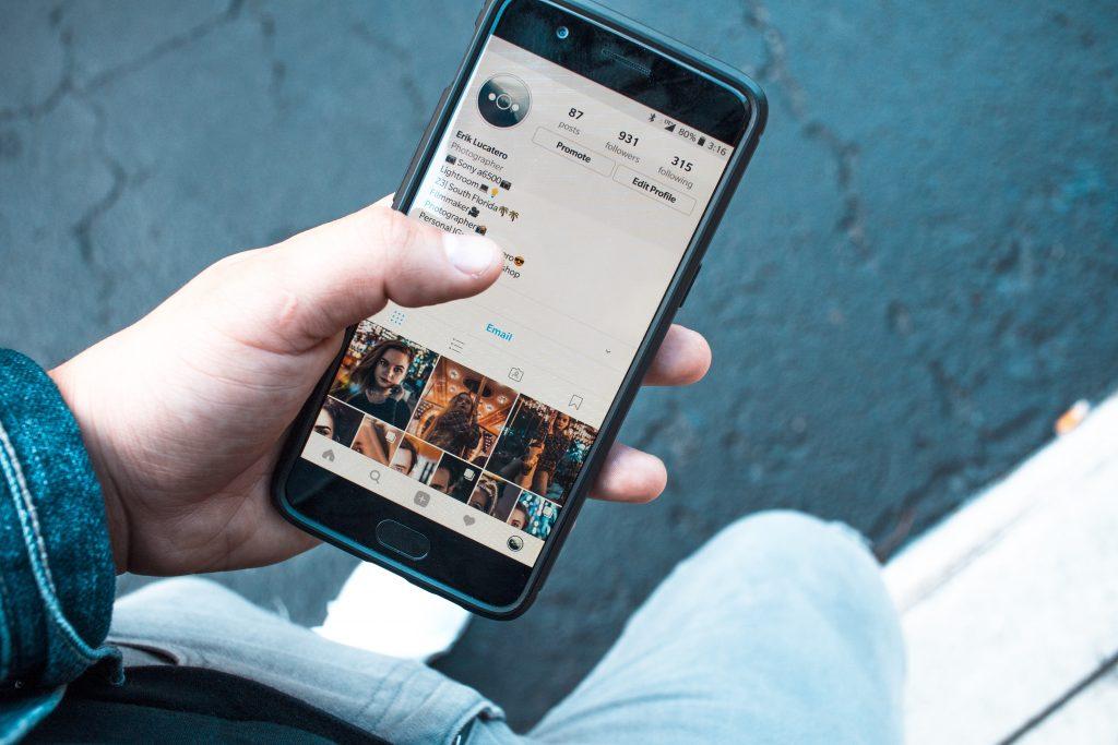 Digital Marketing Agency Perth - phone in hand
