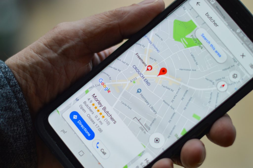 SEO Canberra - person using Google on their phone