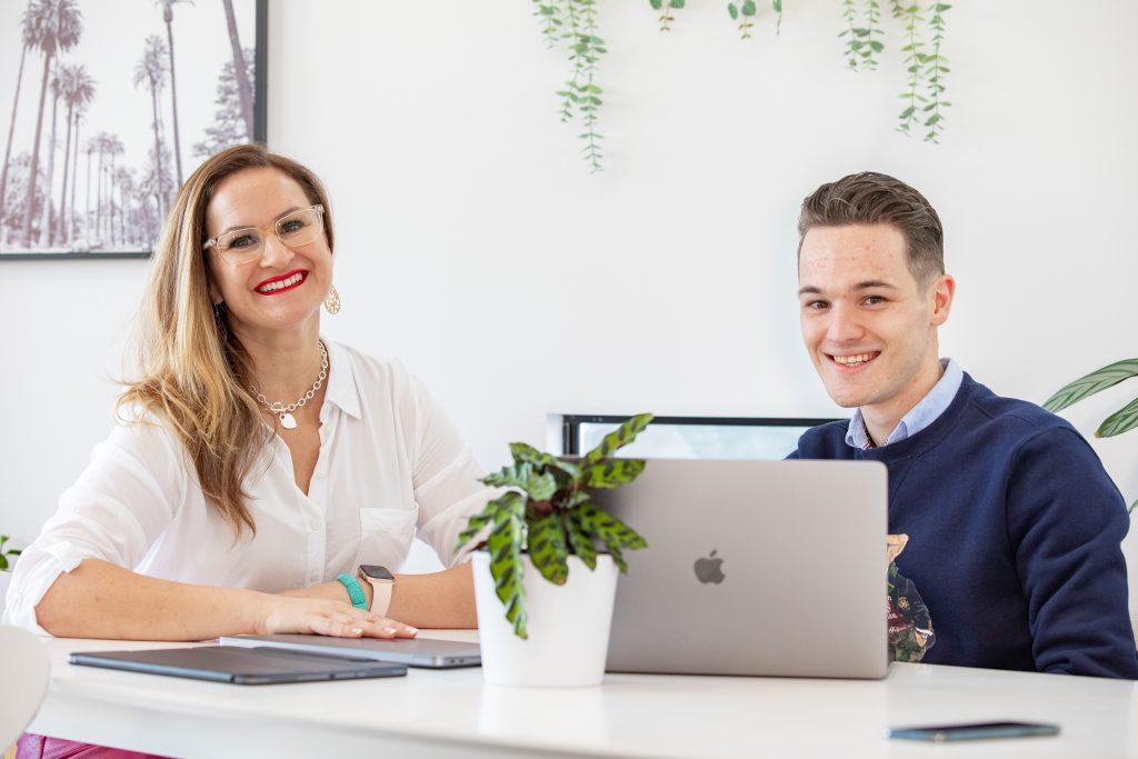 web design - Jodi and Ben from DNHQ